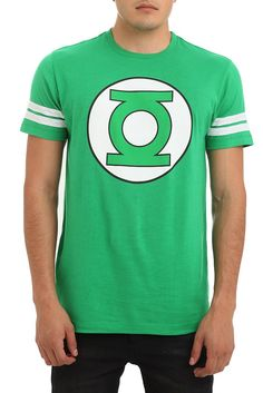 DC Comics Green Lantern Logo Football T-Shirt