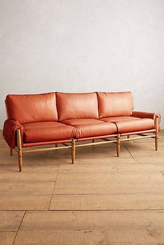 Premium Leather Rhys Sofa