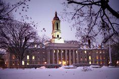 Old Main, Penn State University - Main Campus