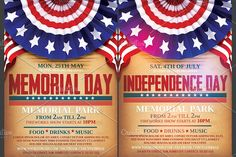 Th Of July Flyer By Stylewish On Creative Market  Creative