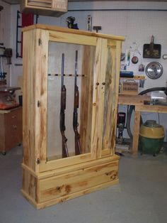 Gun Cabinet, maybe someday for when I get some guns