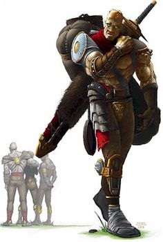 Image result for male goliath waterdeep d&d