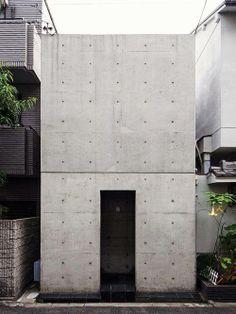 Tadao Ando - Azuma House, Osaka, Japan 1976