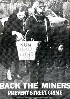 Strike poster End Of An Era, Margaret Thatcher, North East England, Private Eye, History Projects, Coal Mining, Local History, Documentary Photography, Satire
