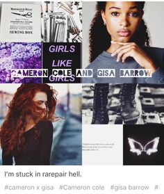 Gisa and Cameron in Red Queen series