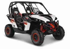 2015 Can-Am Maverick 1000R X XC Red White and Black