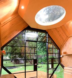 The Wooden Polyhedron: A house for the Garden by Manuel Villa