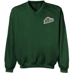 NCAA Bemidji State Beavers Logo Applique Microfiber Windshirt - Green  $49.95