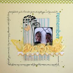Another idea for a Stampin' Up! MDS scrapbook page...love the colors and design