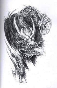 Drachen Tattoo Motiv China Gallery