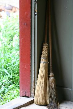 who doesn't love a natural broom or two?