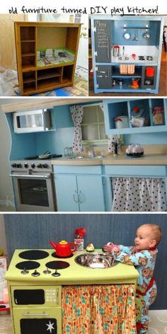 Mevrouw Schaap Baby- en Peutercadeaus : Te gekke DIY keukentjes!!