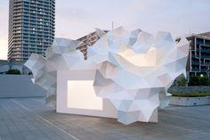 El triángulo como figura base: Bloomberg pavilion. Akihisa Hirata Architecture - Noticias de Arquitectura - Buscador de Arquitectura