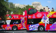 City Sightseeing Athens 2018 Soak up the Greek sunshine and explore the sites of Athens at the same time while your open top double-decker buses City Sightseeing Athens tour. City Sightseeing Athens start the adventure at... #Event #Sightseeing #Hop-onHop-offTours #Tour #Backpackers #Tickets #Entertainment