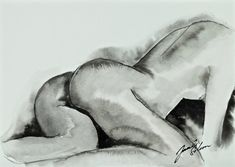 Where Is My Mobile - minimal nude art by Jacek Sikora