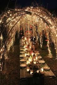 Resultado de imagen para decoracion de boda con luces