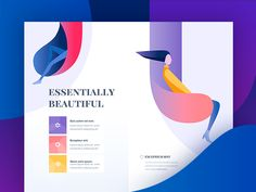 lifestyle landing by Outcrowd