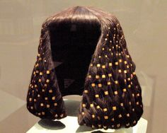Heads up: Wigs from ancient Egypt made from human hair, including Pharaoh Ramses wig which is made of approximately 120 000 individual hairs.