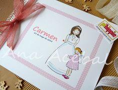 libro de firmas de primera comunion personalizado niña
