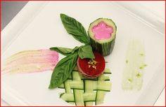 Carla Hall's dish designed for Isaac Mizrahi. Top Chef, Season 8.