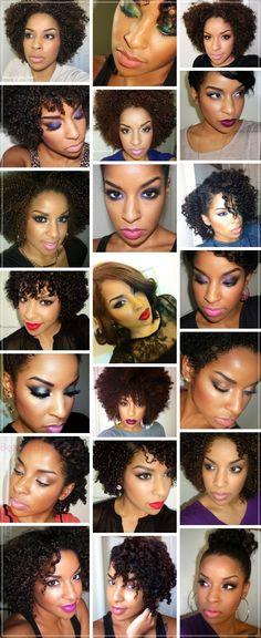 maquiagem / negras