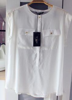 Kup mój przedmiot na #Vinted http://www.vinted.pl/kobiety/koszule/9679193-biala-koszula-mgielka-ze-zlotymi-guzikami