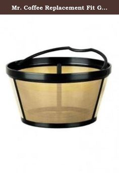 The 222 best reusable filters coffee filters coffee machine mr coffee replacement fit gold tone filter basket gtf2 rb product description genuine fandeluxe Image collections