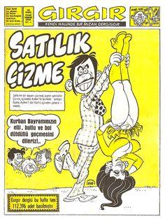 Gırgır Sayı - 0074 - Çizgi Roman Diyarı Caricature, Comic Covers, Once Upon A Time, Album, Nostalgia, Artsy, Anime, Memories, Entertaining