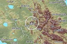 Cinquew News: Terremoto in Umbria 9 febbraio 2017, scossa di mag...