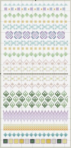Spring Stitch Sampler by Embroiderbee