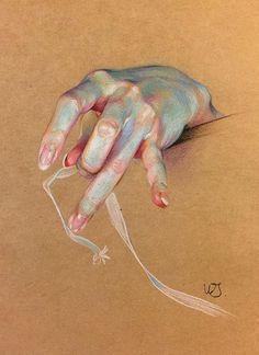 pencil drawings - Awesome Painting by WanJin Gim Anatomy Drawing, Anatomy Art, Hand Drawing Reference, Art Reference, Figure Drawing, Painting & Drawing, Body Painting, Art Sketches, Art Drawings