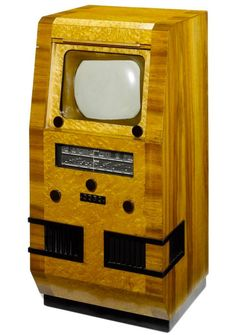 The Most Insane Television Sets in History: A Baird Lyric with a screen, 1946 Radio Record Player, Record Players, Vintage Television, Television Set, Tvs, Tv Sets, Antique Radio, Phonograph, Vintage Tv