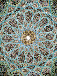 mosaic mandala ceiling