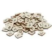 Buy Wooden Letter Tiles 114 Pieces from the Wooden Shapes & Pegs range at Hobbycraft. Free UK Delivery over and Free Returns. Wooden Christmas Eve Box, Christmas Angel Decorations, Christmas Angels, Big Wooden Letters, Shabby Chic Christmas, Wooden Shapes, Mini Bottles, Christmas Makes, Hobbies And Crafts