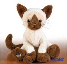 Webkinz Siamese Cat $13.95
