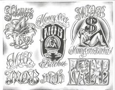 Tattoos are popular now more than ever. Chicano Tattoos, Chicano Drawings, Gangster Tattoos, Body Art Tattoos, Sleeve Tattoos, 90s Tattoos, Female Tattoos, Tattoos Skull, Chicano Lettering
