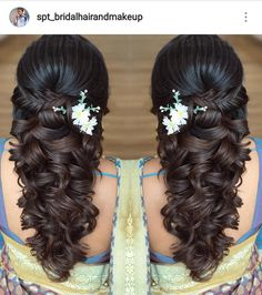 Ideas Wedding Hairstyles Updo Messy Easy For 2019 Quince Hairstyles, Side Braid Hairstyles, Mom Hairstyles, Indian Wedding Hairstyles, Hairstyles 2018, Pretty Hairstyles, Bridal Hair Buns, Messy Wedding Hair, Wedding Hairstyles