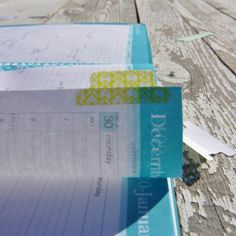 Adding flair to a day planner