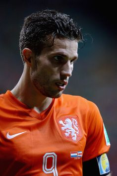 Robin van Persie of @manutd captained the Netherlands during the country's 2014 World Cup campaign in Brazil.