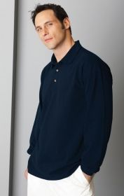 Promotional Products Ideas That Work: L/S PIQUÉ POLO. Get yours at www.luscangroup.com