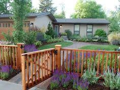 1000 images about craftsman front yard fencing on. Black Bedroom Furniture Sets. Home Design Ideas