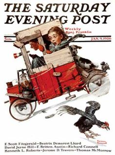 saturday evening post covers   Saturday Evening Post - 1926-01-09 (Norman Rockwell)