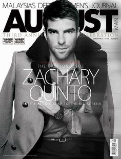 Zachary Quinto. He's just really hot, okay?