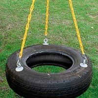Tire swing, tire swing, tire swing! Tire swings are an easy, fast and affordable project that the kids and adults will enjoy for years to come. There are several types of tire swings, this tire swing is a three point, horizontal tire swing. You can click on highlighted words for links to helpful places!!*Build a tire swing, make a tire swing*Build...