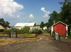 The idyllic Tammio fishing village is the perfect place to spend a beautiful summer's day. Fishing Villages, Perfect Place, Cabin, House Styles, Places, Pictures, Beautiful, Home Decor, Finland