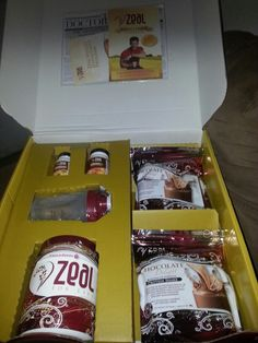 Got my #Zeal wellness abd weight management kit today wohooo ask me about it