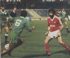 Chalana durante o Benfica - 1 / Estrela de Portalegre - 0 (1987/88).
