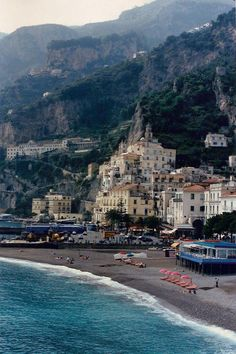 We were here years ago.  It's breathtaking.  If you go to Italy, you must do Amalfi.  Don't tell the rental car company, however.  Amalfi, Italy