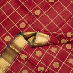 Kanakavalli Handwoven Kanjivaram Silk Sari 000818
