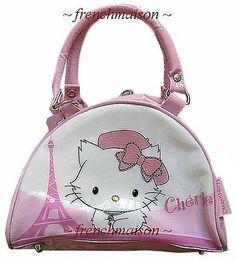 Charmmy Kitty Eiffel Tower handbag with handles from Paris ... sanrio, charmmy kitty